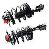 MOCA 171572L 171572R - Both (2) Complete Strut & Spring Assembly Front Driver & Passenger Side for Chrysler Town & Country & Dodge Caravan 2001-2007 - Front