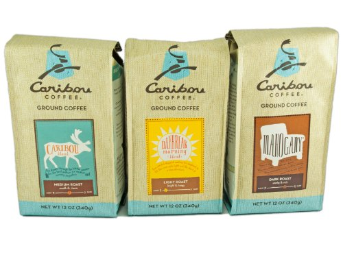 Caribou Coffee Ground Assorted Sampler