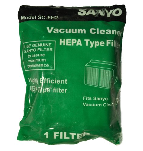Sanyo Model SC-X2100P, SC-FH2 Canister Vacuum Cleaner Filter - Sanyo Cannister