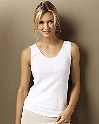 Indera 100% Cotton Rib Knit Camisole, 3-pk - Misses, Womens