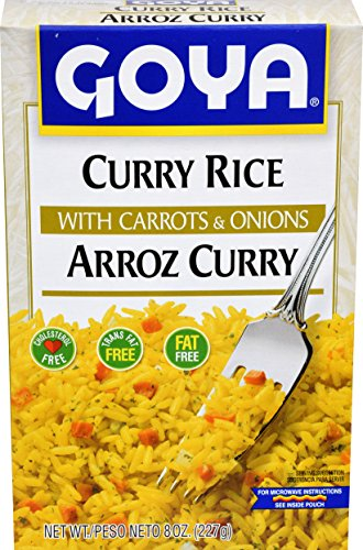 Goya Foods Curry Rice, 8-Ounce (Pack of (Curried Rice)