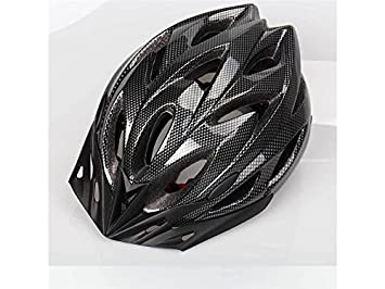 Plsonk Único Casco de Bicicleta de Montaña poroso de Casco de una Pieza Ajustable para Adultos