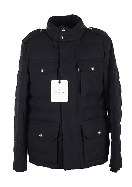 MONCLER Cl Blue Levet Field Jacket Coat Size 2 / M / 48/38 U.S.: Amazon.es: Ropa y accesorios