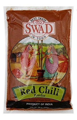 Swad Spice Chile Powder 14 Oz (Pack Of 20) by KeHe Distributors