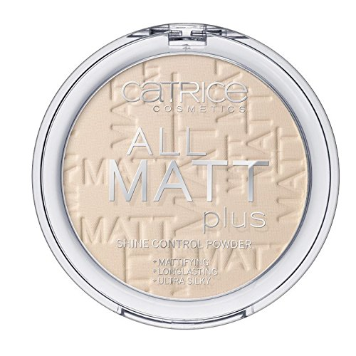 - Catrice - Puder - All Matt Plus Shine Control Powder - Transparent 010