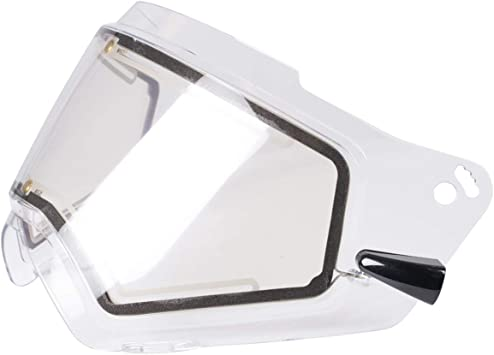 FXR Racing Octane X Helmet Replacement Clear Heated Faceshield and Chord