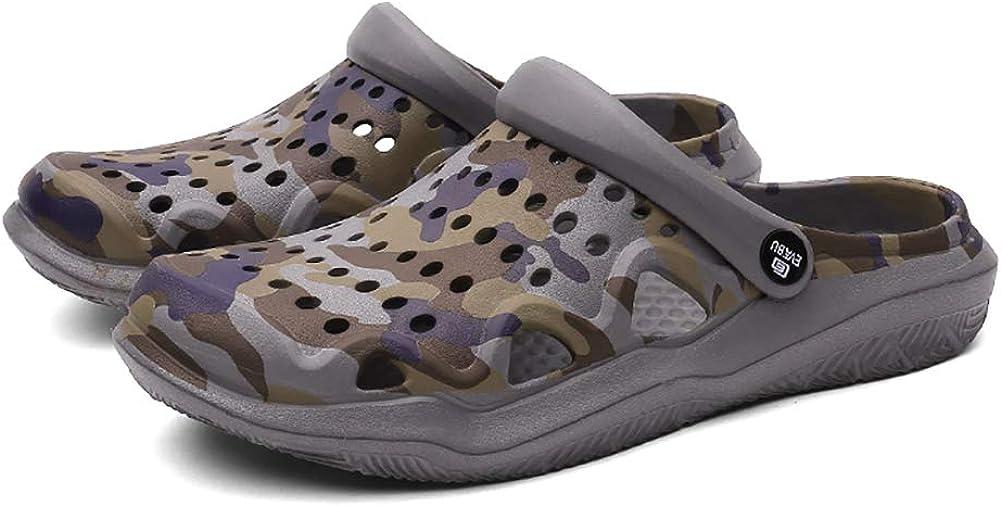 Orktree Unisex Garden Clogs Mules Shoes Summer Breathable Women Walking Sandals Slippers Beach Shower Footwear Mens Water Shoes