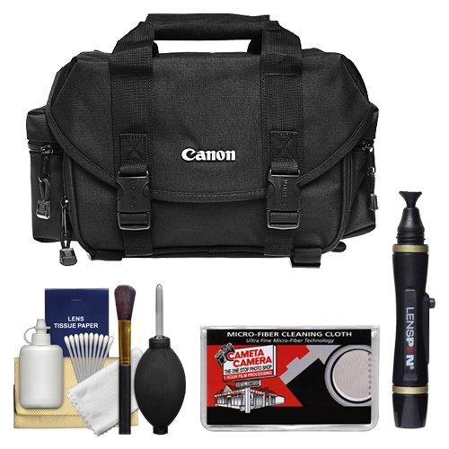Canon 2400 Digital SLR Camera Case Gadget Bag + Accessory Kit for EOS Rebel XT, XTi, XS, XSi, T1i, T2i, T3, T3i, 60D, 50D, 7D, 5D & 1D by Canon