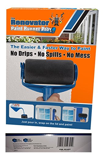 Paint Runner Pro by Renovator - No Prep, No Mess. Simply Pour and Paint to Transform Any Room In Just Minutes