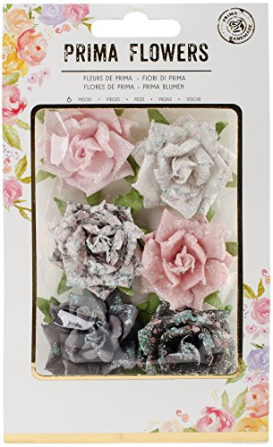 Prima Marketing Rose Quartz Flowers-Persian Marblelite