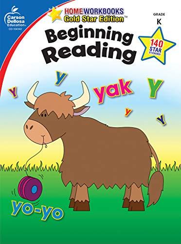 Beginning Reading, Grade K: Gold Star Edition (Home Workbooks) ()