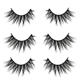 VGTE 3D False Eyelashes Extension 3Pairs Makeup Hand-made Dramatic Long Lashes Reusable Cruelty-Free Fake Eyelash ¡­