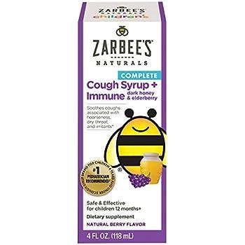 Amazon Com Zarbee S Children S Cough Syrup Immune