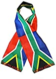set of 12 South Africa Country Lightweight Flag Printed Knitted Style Scarf 8''x60''