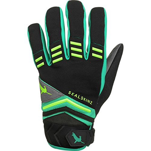 -L Dragon Eye Mountain Biking Glove, Large, Black/Leaf Green/Lime ()