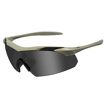 Amazon.com: Wiley X WX Vapor de hombre Gris – Gafas de sol ...