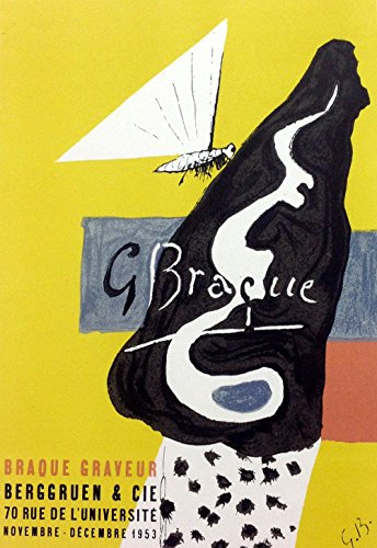 Georges Braque 7, Lithograph Braque graveur Art in Posters
