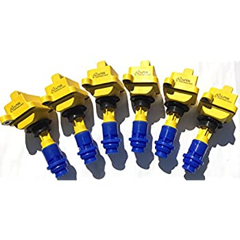 Pack Of 6 JDM Toyota Supra Ignition Coil Packs 1JZ 2JZ GTE SOARER 2JZ GTE
