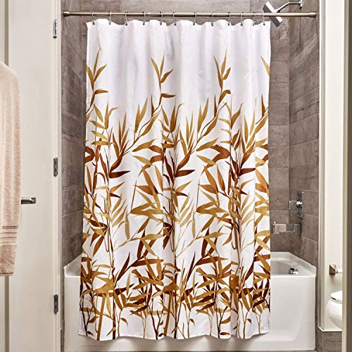 InterDesign 36521 Anzu Fabric Shower Curtain  - Standard, 72