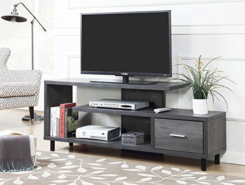 Convenience Concepts 151750WGY Seal II TV Stand, 60