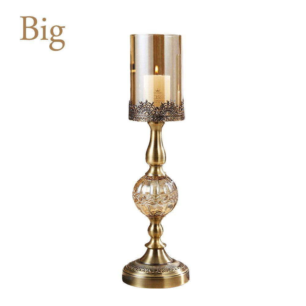BUYTNUD Candlestick holder European classic wine table decorations wedding party decoration