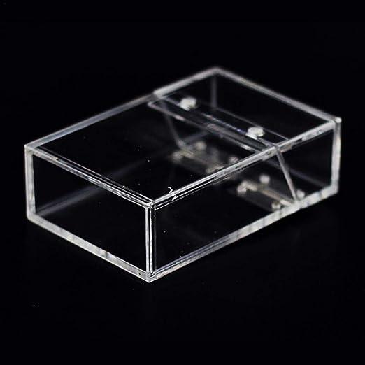 popchilli INS Caja Transparente De La Caja De Cigarrillos del ...