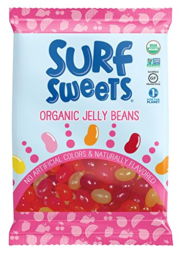 Surf Sweets Organic Jelly Beans, 2.75 oz, 12 Count