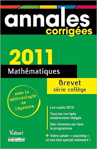Livre Mathématiques Brevet série collège pdf, epub