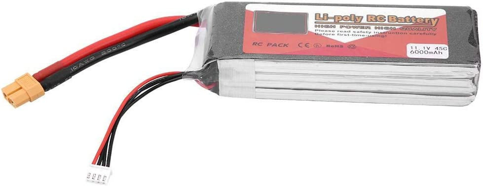 ZOP POWER Rechargeable LiPo Battery with XT60 Plug 3S 11.1V 6000mAh 500mAh 4500mAh 5500mAh VGEBY1 Lipo Battery