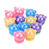 jelly bean ride on - LtrottedJ Cute Bear Colorful Soft Slime Slime Stress Relief Toy Sludge Toys