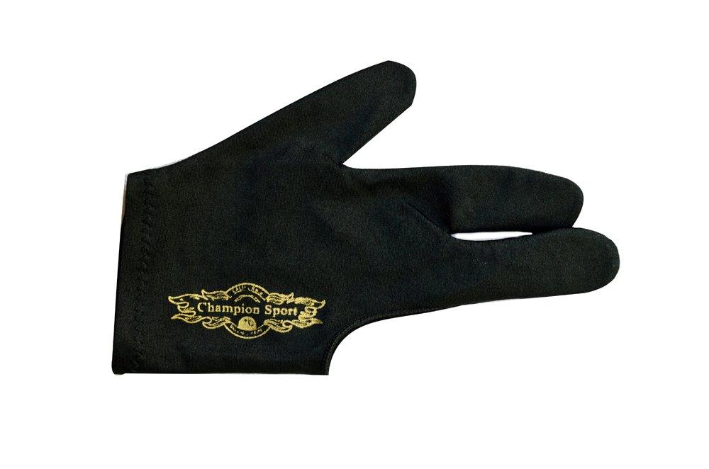 Champion Sport Black Billiards Gloves Image 1