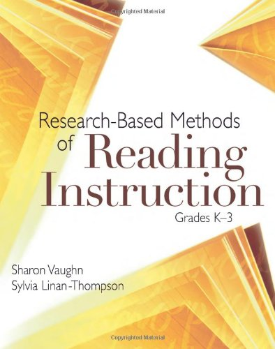 Research-Based Methods Of Reading Instruction: Grades K-3