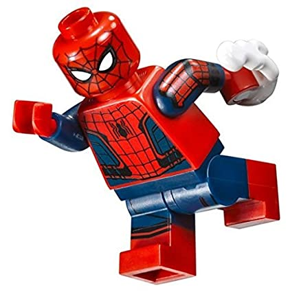 amazon com lego marvel super heroes minifigure spider man with