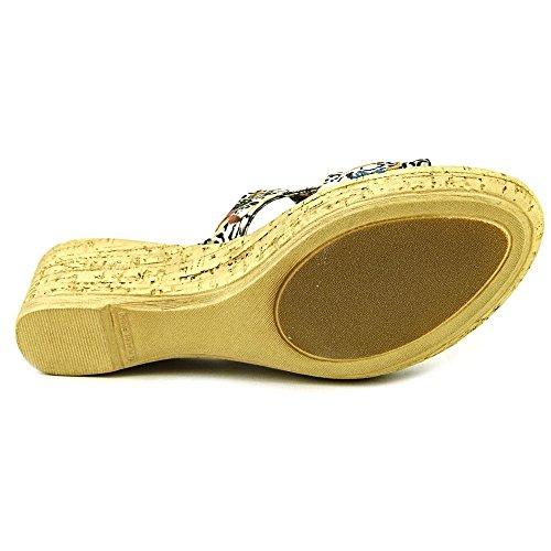 Easy Street Kvinners Arezzo Kile Sandal Sandaler Beige Multi