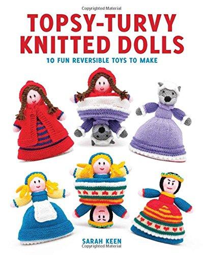 2 best topsy turvy knitted dolls