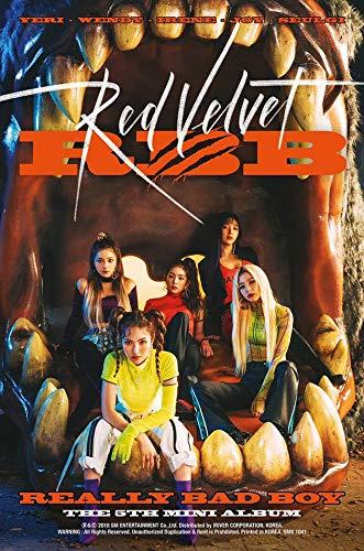 SM Entertainment RED Velvet - RBB (5th Mini Album) CD+Booklet+Folded Poster SMK1041