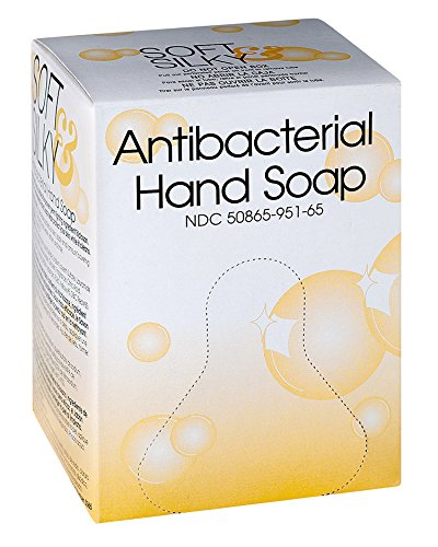 Kutol 21538 Antibacterial Hand Soap, 800 mL Bag-in-Box, Amber with Citrus Spice Scent (Pack of 6) by Kutol