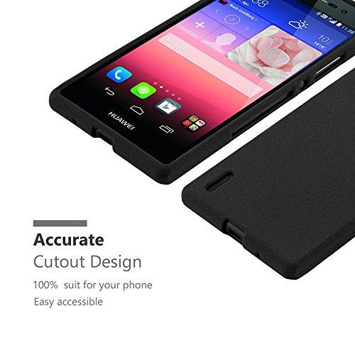 Cadorabo - Cubierta protectora para Huawei P7 de silicona TPU en diseño Escarcha
