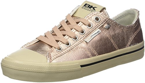 British Knights WoMen Chase Trainers, Silver Pink (Rose Gold 03)