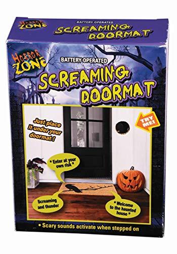 FORUM NOVELTIES SCREAMING DOOR MAT (Costume Doormat)