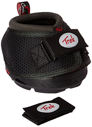 Cavallo Horse & Rider Trek Slim Sole Hoof Boots, Size 2