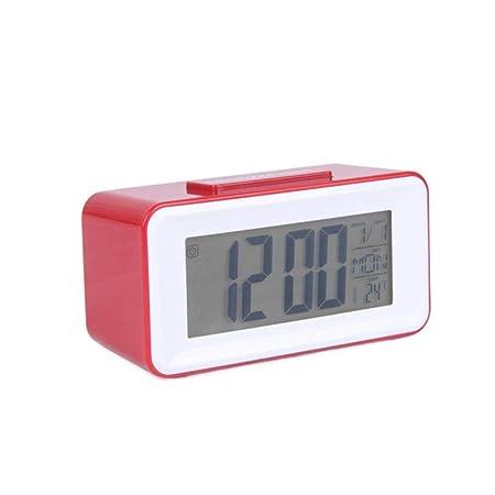 MOMO Reloj Despertador LED Relojes de Mesa Digitales Reloj para ...