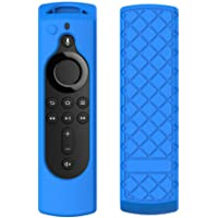 """Leegoal Silicone Remote Case Skin Compatible with 5.6"""" Alexa Voice Remote for Fire TV Stick 4K,Fire TV Cube, Fire TV, Protective Case Cover"""