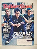 Rolling Stone Magazine (September 22, 2016) Green Day Cover