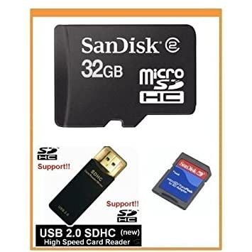 Amazon.com: SanDisk 32 GB tarjeta de memoria microSDHC con ...