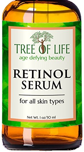 ToLB Retinol Serum - 72% ORGANIC - Clinical Strength Retinol Serum Cream Moisturizer - Anti Aging Anti Wrinkle Facial Serum - 1 ounce