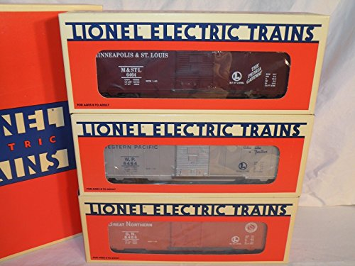 6464 Series Boxcars - Lionel 19247 6464 Boxcar Series 1 Great Northern Western Pacific MStP C10 New ,#G14E6GE4R-GE 4-TEW6W288496