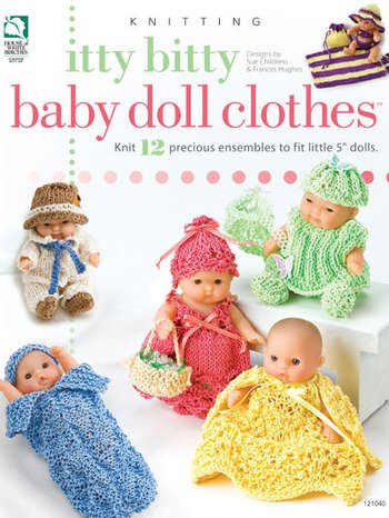 Itty Bitty Baby Doll Clothes - Knitting Patterns: Amazon.co.uk ...