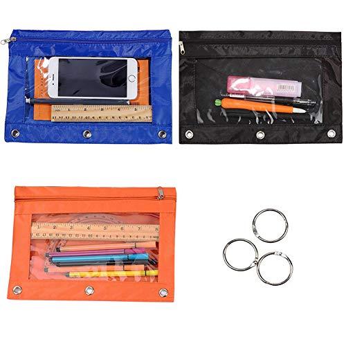 binder pencil pouch
