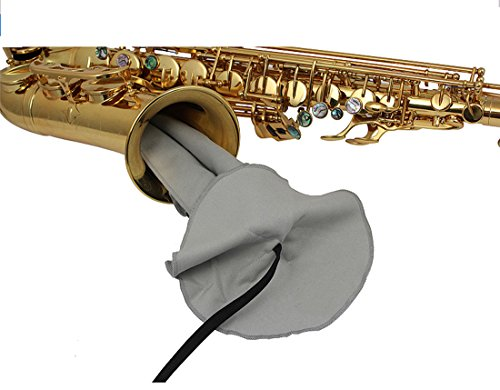 Microfiber Cleaning Cloth Swab Clarinet Oboe Saxophone Neck Tenor Sax Instrument Cleaner (Oboe Tenor)